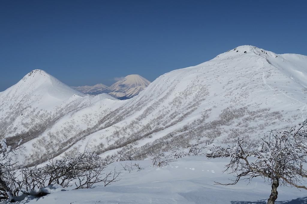 徳舜瞥山、ホロホロ山、オロオロ山、3月5日-速報版-_f0138096_1726711.jpg