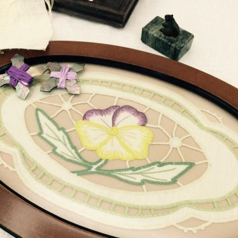 今西ゆき ヨーロピアン伝統刺繍教室展⑥_a0157409_20560967.jpg