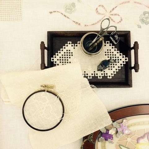今西ゆき ヨーロピアン伝統刺繍教室展⑥_a0157409_20562201.jpg