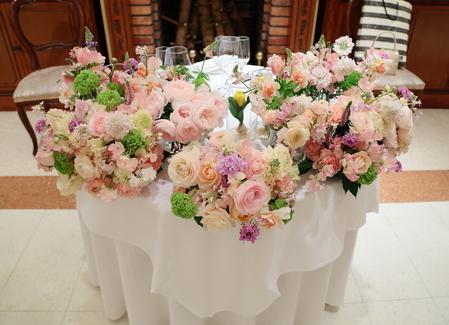 春の装花 リストランテASO様へ 春の花でおまかせで_a0042928_11296.jpg