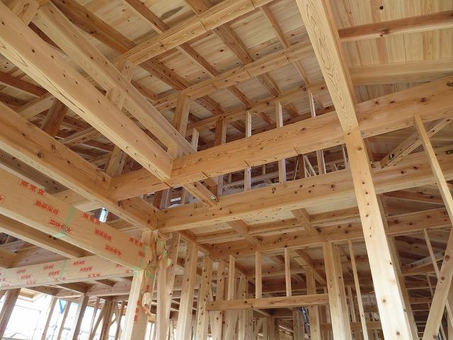 大屋根の本格和室の家⑥(瓦工事)_c0220930_17485394.jpg