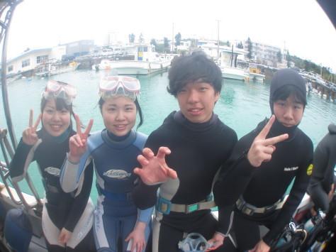 3月6日幼馴染グループで青の洞窟体験ダイビング_c0070933_20544789.jpg