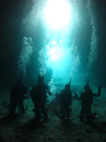 3月6日幼馴染グループで青の洞窟体験ダイビング_c0070933_20552299.jpg