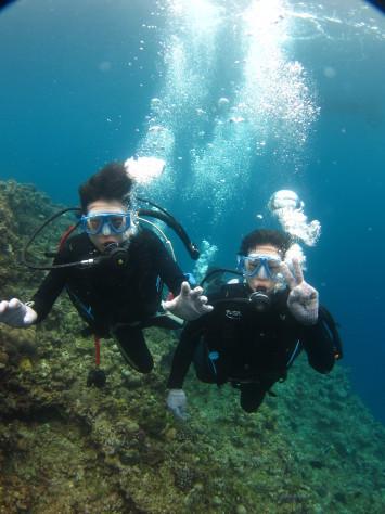 3月6日幼馴染グループで青の洞窟体験ダイビング_c0070933_20562234.jpg
