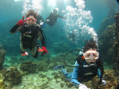 3月6日幼馴染グループで青の洞窟体験ダイビング_c0070933_20563742.jpg