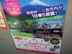 三島~箱根 フリーきっぷ_c0087349_1024575.jpg
