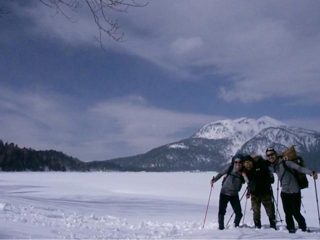 雪の尾瀬沼 ①_e0329049_21055528.jpg