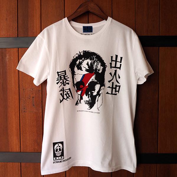"RALEIGH ZIGGY SKULL ""出火吐暴威""Tシャツ入荷しました_e0325662_14484769.jpg"