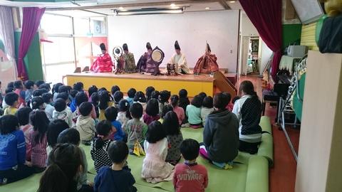 報徳幼稚園 雅楽・紙芝居_f0136366_10382251.jpg