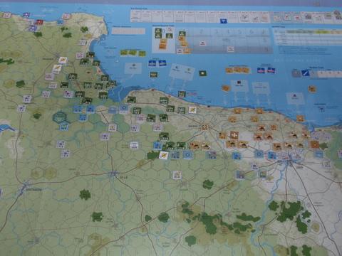GMT「Normandy\'44」をソロプレイ⑤_b0162202_22233761.jpg