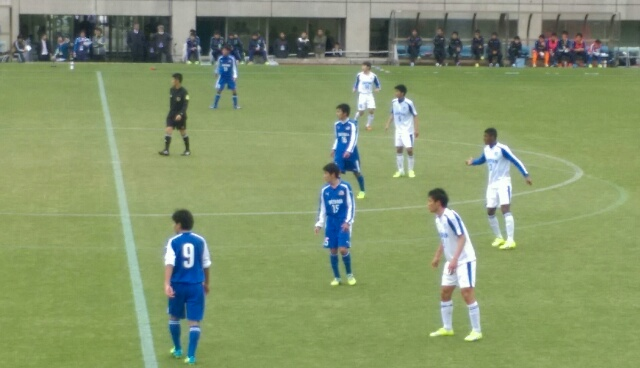 サッカー静岡ユース選抜vs日本高...