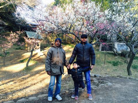 富士山&梅林_a0153945_13274139.jpg