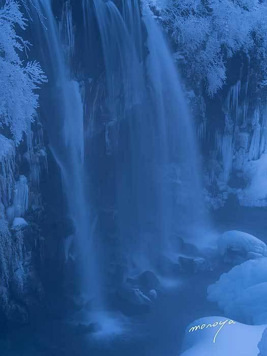 冬の唐沢の滝_c0085877_06493207.jpg
