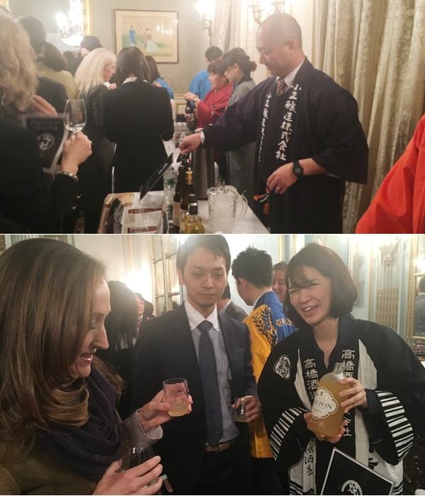 攻めの農水!!! 在NY日本総領事・大使公邸で日本の焼酎イベント開催_b0007805_22341951.jpg