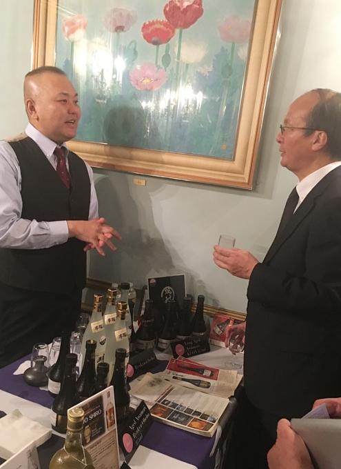 攻めの農水!!! 在NY日本総領事・大使公邸で日本の焼酎イベント開催_b0007805_22363598.jpg
