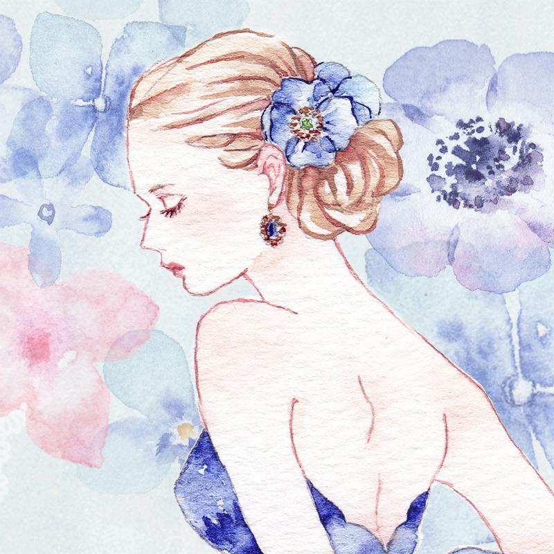 オトナの塗り絵の塗り方講座①ひみつの花園ぬりえ体験 オトナの