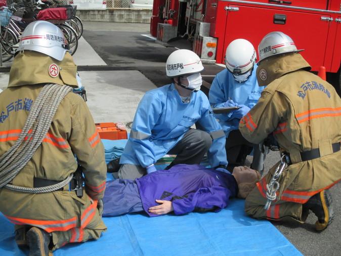 消防避難訓練_b0131135_19221982.jpg