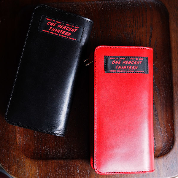 1%13 [1% AUTHENTIC LEATHER LONG WALLET] 入荷しました!!!_e0325662_17215998.jpg