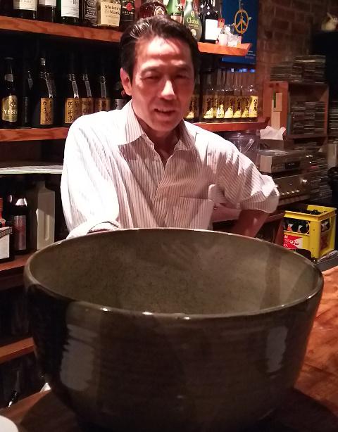 ご飯が美味しいBar(バー)♪「アダン」が移転してオープン@泉岳寺_b0051666_80878.jpg