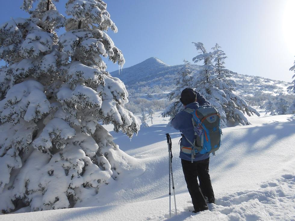徳舜瞥山、ホロホロ山、オロオロ山、3月5日-同行者からの写真-_f0138096_14105767.jpg