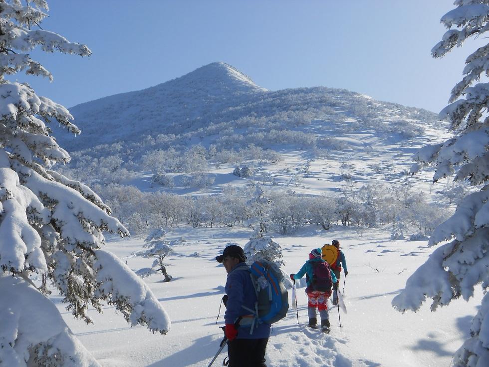 徳舜瞥山、ホロホロ山、オロオロ山、3月5日-同行者からの写真-_f0138096_1411675.jpg