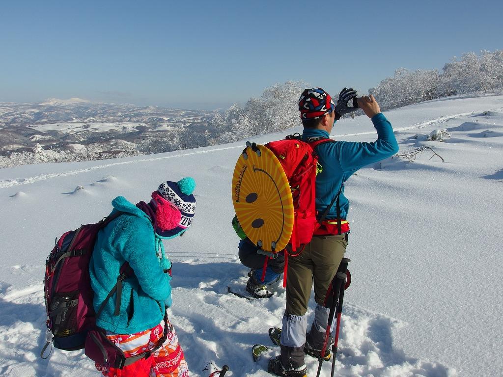徳舜瞥山、ホロホロ山、オロオロ山、3月5日-同行者からの写真-_f0138096_14122729.jpg