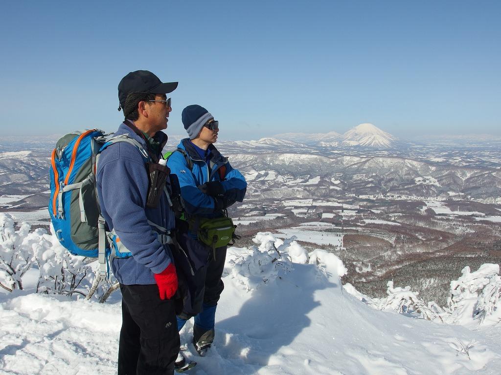 徳舜瞥山、ホロホロ山、オロオロ山、3月5日-同行者からの写真-_f0138096_14131018.jpg