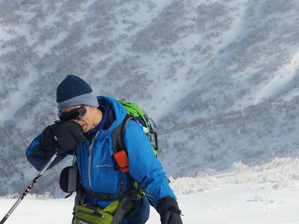 徳舜瞥山、ホロホロ山、オロオロ山、3月5日-同行者からの写真-_f0138096_14131871.jpg