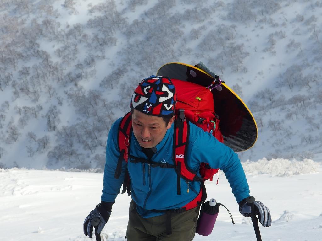 徳舜瞥山、ホロホロ山、オロオロ山、3月5日-同行者からの写真-_f0138096_14132650.jpg