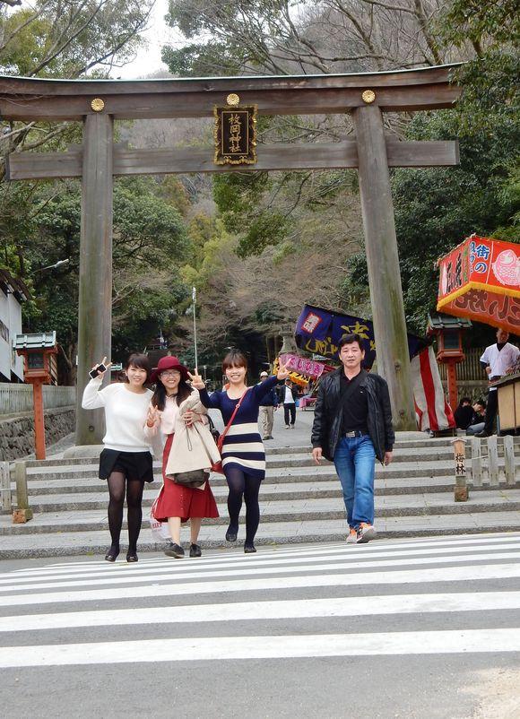 枚岡梅林へ行きました。火曜夜教室 _e0175020_9161496.jpg