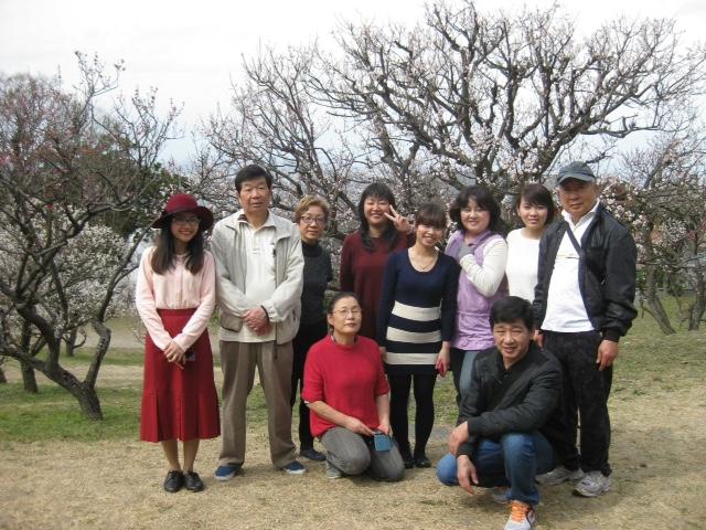 枚岡梅林へ行きました。火曜夜教室 _e0175020_9165819.jpg