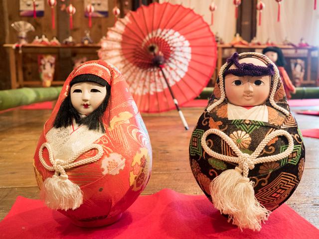 古民家の雛祭り③~いろいろな雛人形~_a0257652_16574857.jpg