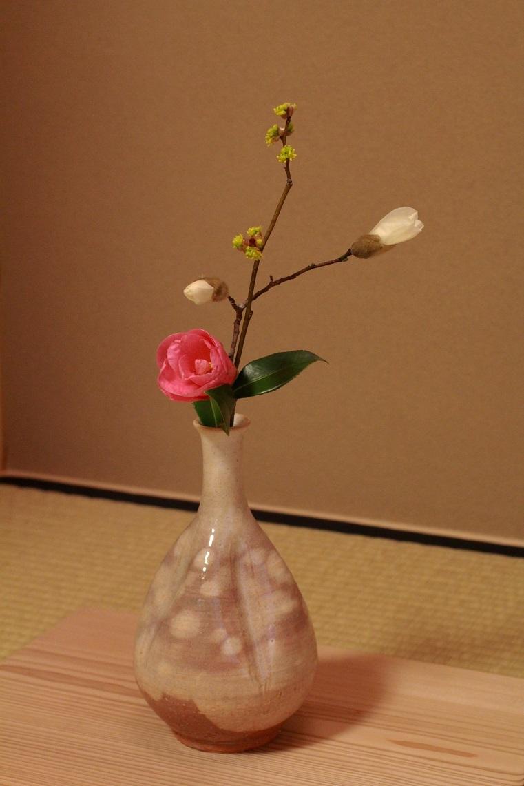 花を活ける ~沈丁花~_a0107574_16413234.jpg