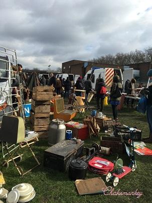 Chiswick Car Boots Saleの戦利品でパンナコッタ&ゼリーを作る_f0238789_18112356.jpg