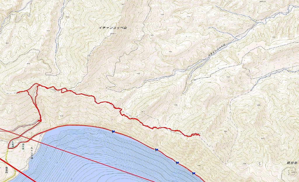 734.7mピークと幌平山、3月9日-速報版-_f0138096_17161855.jpg