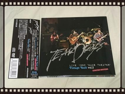 TEARDROPS / LIVE 1990 \'BAUS THEATER\' Vintage Vault vol.2_b0042308_1534298.jpg