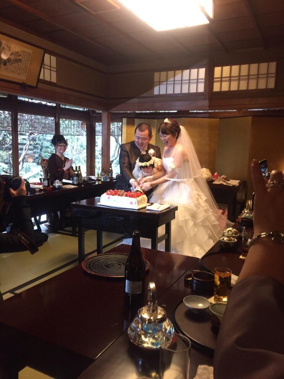 新郎新婦様からのメール 赤ちゃんへ、手作りの花かんむりと一緒に 京都まで_a0042928_12554737.jpg
