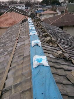 武蔵野市の吉祥寺北町で、瓦屋根修理工事_c0223192_2304219.jpg