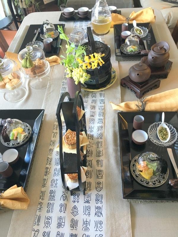 ミンミン先生の台湾茶セミナーへ♡_f0141419_14444626.jpg