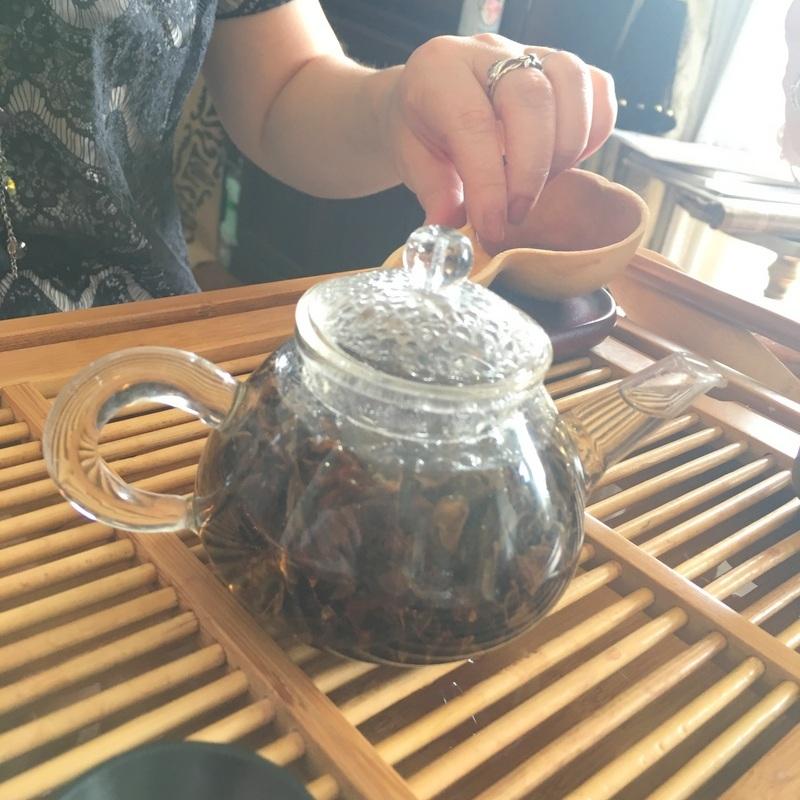 ミンミン先生の台湾茶セミナーへ♡_f0141419_14464911.jpg