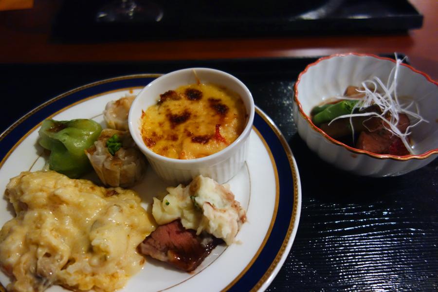 東京プリンスホテルのブッフェ~改装前に~_c0223825_18194470.jpg