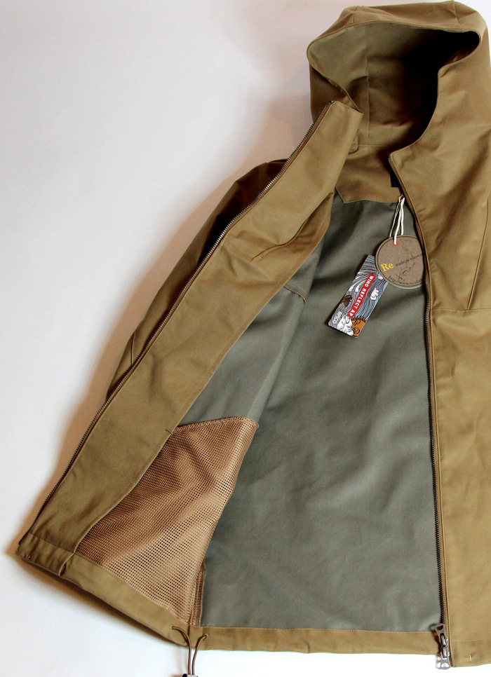 Wax Cotton×Wind Reflect Parka_e0142928_1883466.jpg