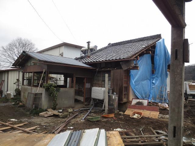 スギヒノキの平屋の家①(解体工事中)_c0220930_08573141.jpg