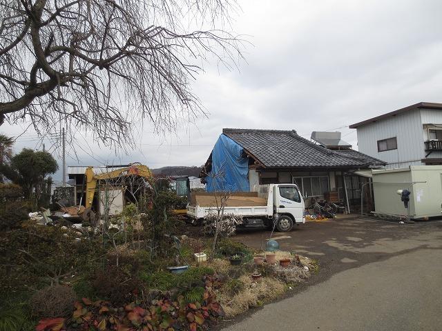 スギヒノキの平屋の家①(解体工事中)_c0220930_08573147.jpg