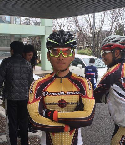 金栄堂サポート:日本大学自転車競技部・岡本隼選手 Fact®インプレッション!_c0003493_9142689.jpg