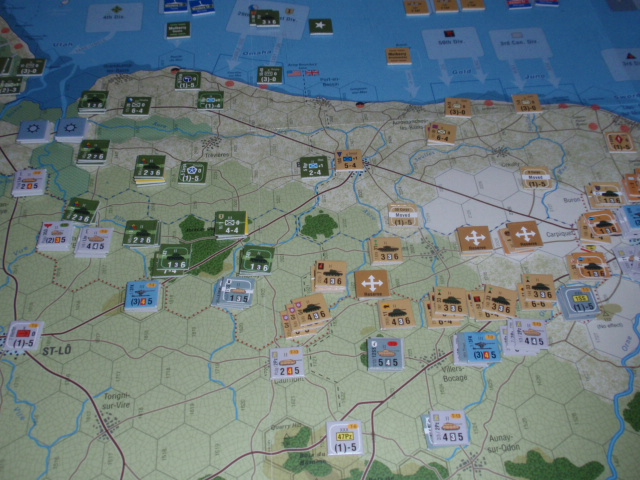GMT「Normandy\'44」をソロプレイ⑦_b0162202_18495054.jpg