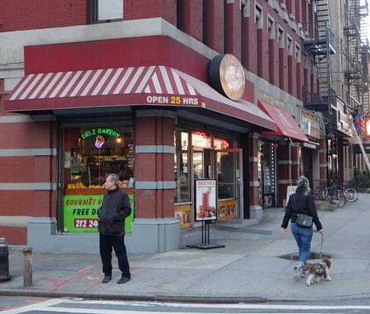 NYミッドタウン・ウェスト、9番街周辺の風景・・・25時間営業中?!_b0007805_10225537.jpg