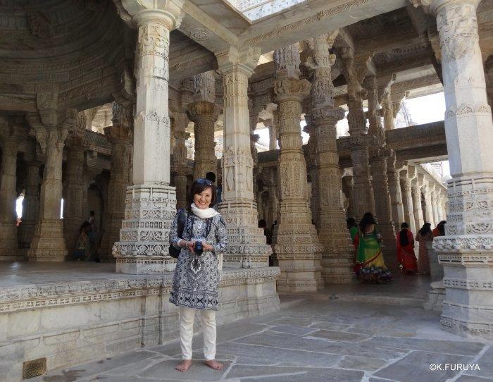 インド・ラジャスタンの旅 11 ジャイナ教の聖地ラーナクプル_a0092659_22205245.jpg