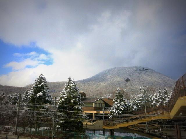 離山の雪化粧*_f0236260_19594976.jpg