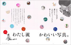 最新号 カメラ日和vol.66 「わたし流 かわいい写真。」3/19(土)発売!_b0043961_11512765.jpg